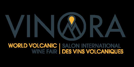 logo vinora volcanic wines international fair