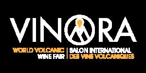 logo et baseline de vinora salon international des vins volcaniques